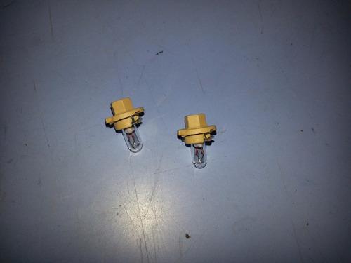 lampada com soquete painel bege 1,5w - preço par