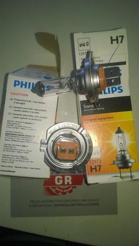 lampada de farol comum h7 - 12v philips 12972