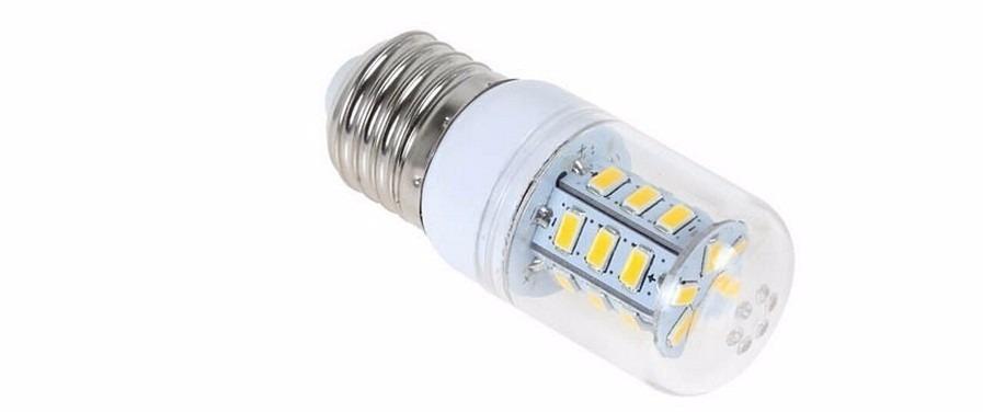 Lampada de led 12v 6w e27 p bateria painel energia solar for Lampade a led e 27