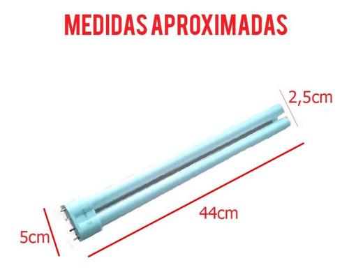 lampada de reposição para aquário 36w azul/branca