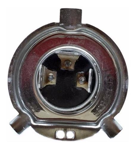lampada do farol h4 moto super branca titan 125/150 ybr 125