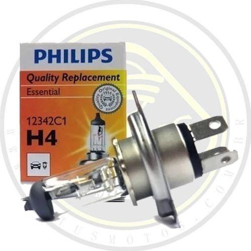 lampada do farol phillips dafra citycom 300 original 005531 com nota