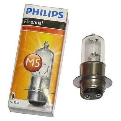 lampada farol h6 35x35 biodo philips c100/125 biz/ bros pop