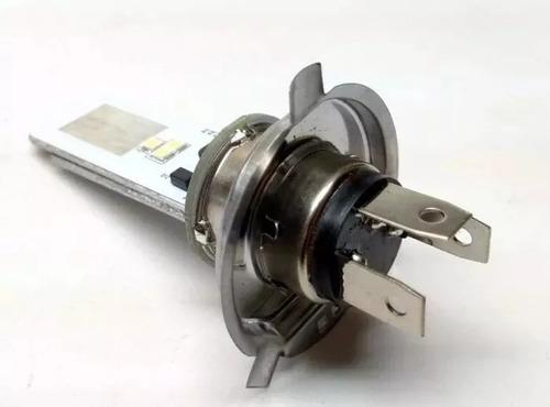 lampada farol led h4 moto efeito xenon titan cb 300 xre cg