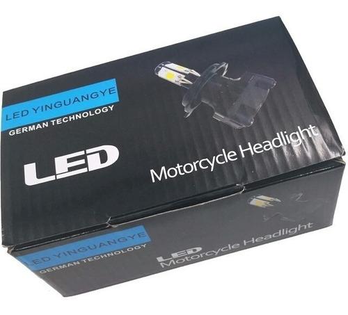 lampada h4 h6 m5 led 3000 lm moto honda bros biz pop xenon