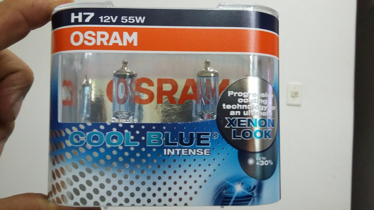 Lampada H7 Osram Cool Blue 12v 55w Preco Do Par R 172 00 Em