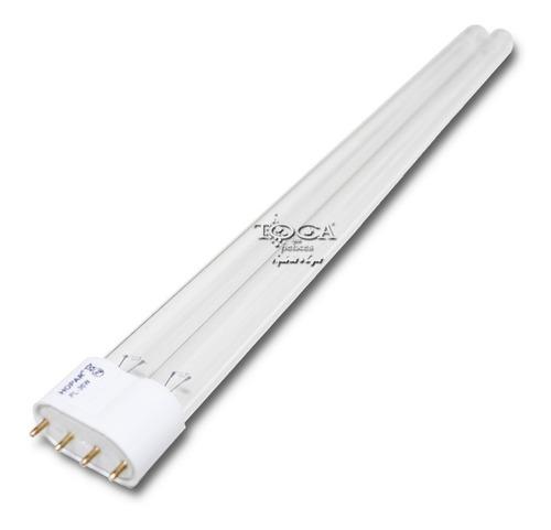 lampada hopar de reposição p/ filtro uv tipo pl 55w 4 pinos