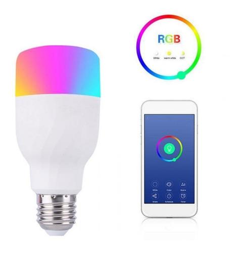 lampada inteligente 2019 rgb 7w led androd wifi smar google