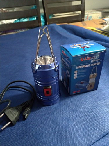 lampada lampiao de camping led