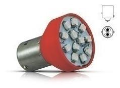 lampada led 2 pólos smd freio e lanterna vermelha / par