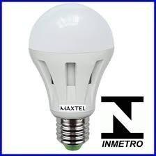 lampada led 9w maxtel branco frio