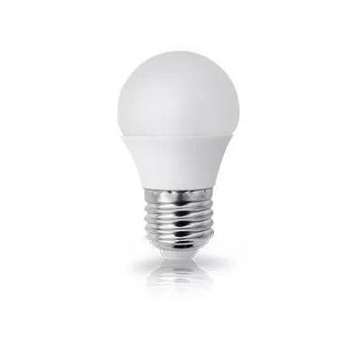 Lampada led bolinha bulbo e27 4w eqv 25w marca top watt for Lampada led 50 watt