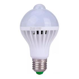 Lampada Led Com Sensor De Presenca 9w