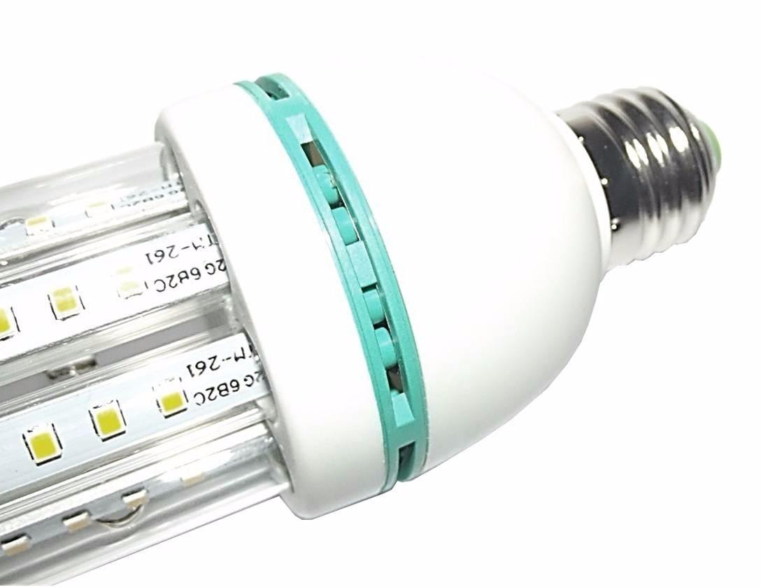 Lampada led milho 6u e27 bivolt 6000k 100w pronta entrega for Lampade e27 a led
