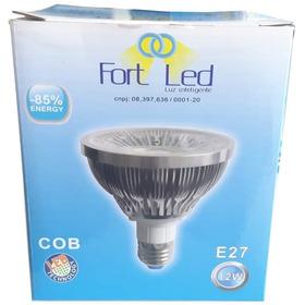 Lampada Led Par30 12w Cob Branco Frio 6500k Bivolt - C/nf