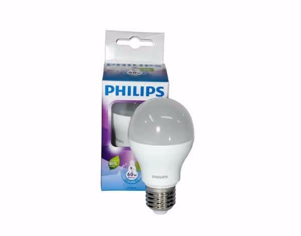 Lampada led philips 9w original bivolt equivale 60w branca r$ 25