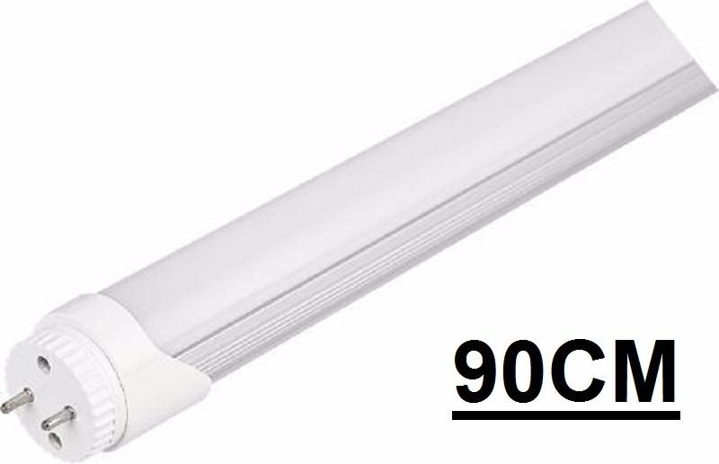 lampada led tubular t8 90cm, 0,90 branco frio bivolt 14w - r$ 54,90
