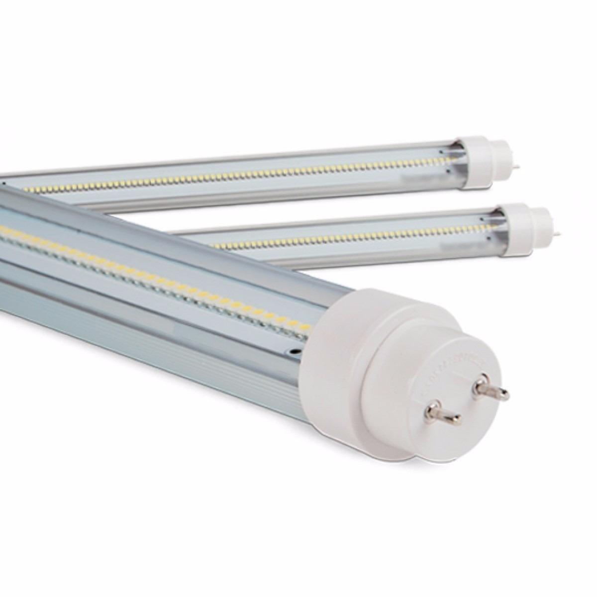 Lampada led tubular t8 tubo 60cm 9w branco frio 6000k r for Lampada led