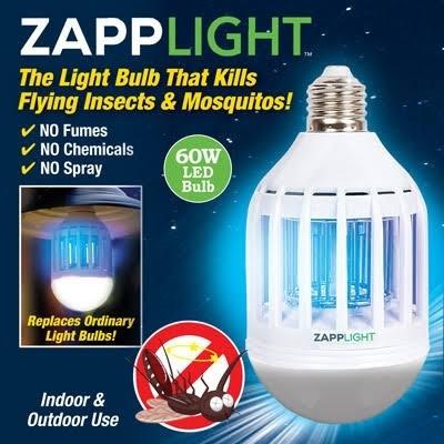 lampada mata inseto zapplight armadilha mata cupim insetos