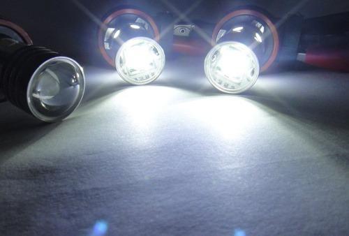 lampada neblina hb4 h11 led cree 5w 240 lumens estilo xenon