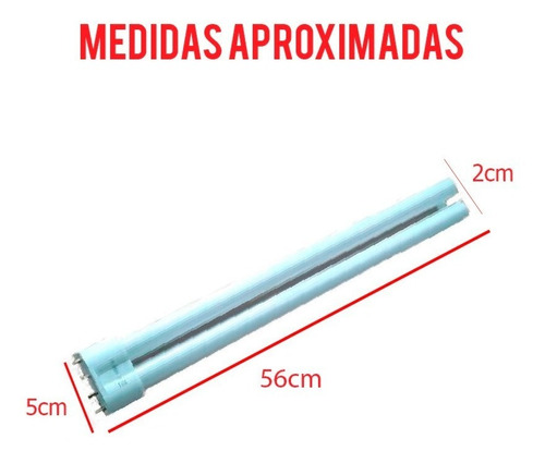 lampada para aquario 55w - reposição
