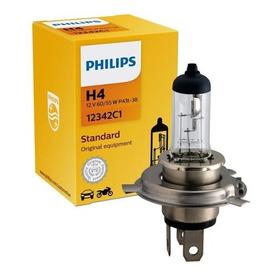 Lâmpada Philips Halógena Standard 55/60w 12v H4 Biodo P43t38