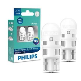 Lampada Philips Pingo Led Ultinon 6000k W5w T10 Super Branc