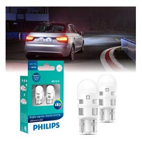 Lâmpada Philips Pingo Led Ultinon 6000k W5w T10 Super Branca