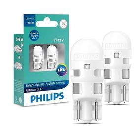 Lampada Philips Pingo Led Ultinon 6000k W5w T10 Super Branca