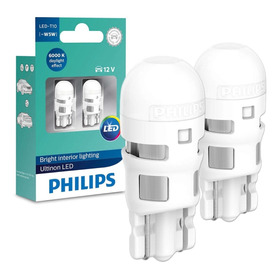 Lampada Philips Pingo Ultinon Led 6000k W5w T10 Super Branca