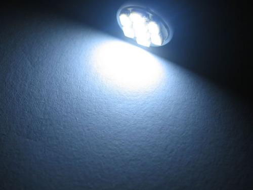 lampada pingo 8 leds t10 xenon super branca frete fixo