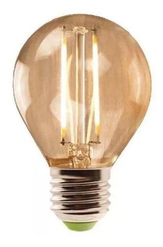 lampada retro decorativa led bolinha g45 2w biv avant