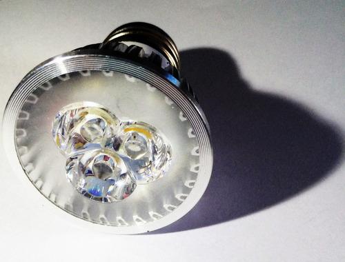 lampada super led 3w dicroica bivolt e27