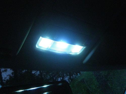 lampada torpedo c5w 16 leds luz teto placa super branca 41mm