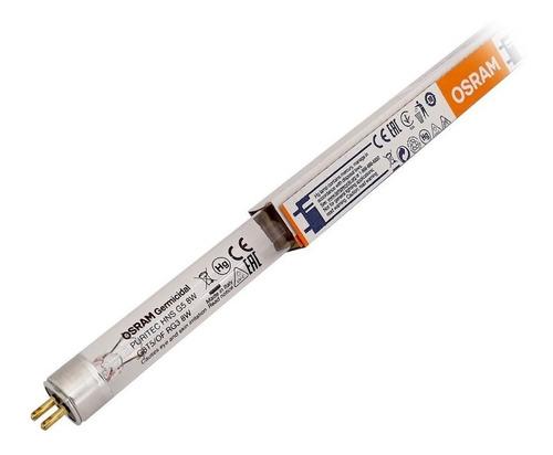 lampada tubular germicida osram t5 8w
