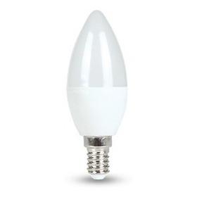 Lampada Vela Leitosa 4,3w Dimerizável 2700k Branco Quente Bi