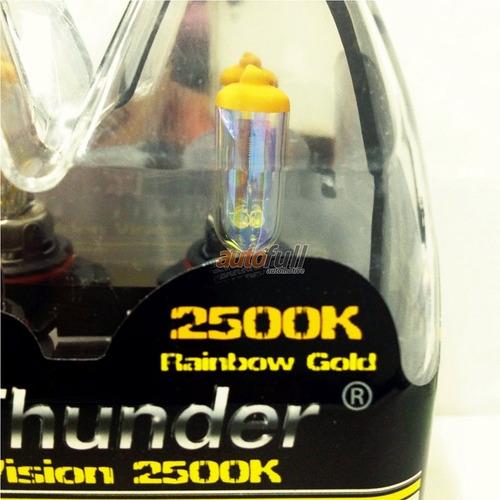 lampadas hb4/9006 gpthunder 2500k golden yellow