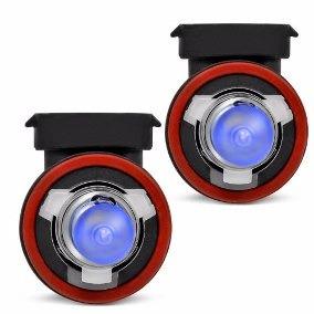 lampadas superbrancas 8500k tipo xenon h11-hb3-hb4 tech one