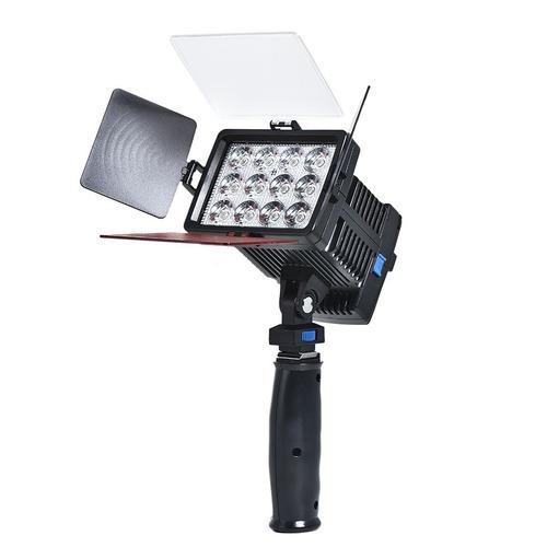 lampara 12 led profesional fotografia luz similar 300 leds