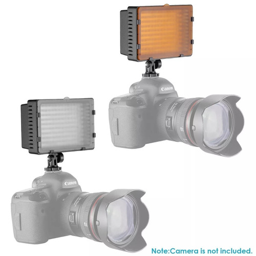 lampara 160 led para vídeo o fotografiar / kit accesorios