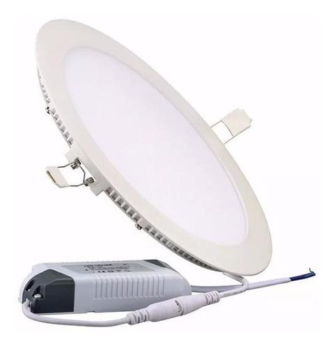 lampara 24w led panel spot ojo de buey empotrar al mayor