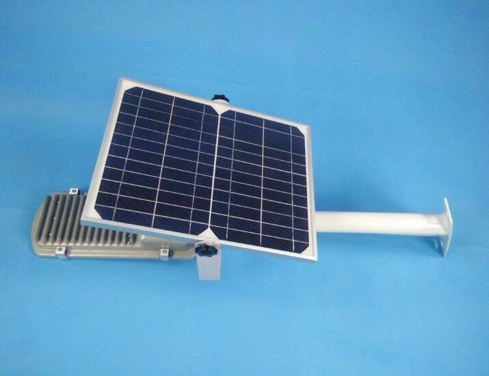 Lampara 36leds solar alumbrado publico encendido for Alumbrado solar jardin