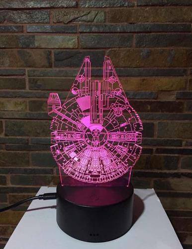 lámpara 3d varios diseños blazar