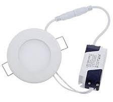 lampara 3w led panel spot ojo de buey empotrar techos tienda