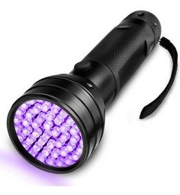 51 UV LED Ultraviolet Luz Linterna Antorcha Impermeable Detector al Aire Libre