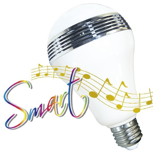 lámpara a led smart audio led tbcin 5w electricaboulevard
