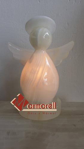 lampara angelito de onix modelo gota 15 cm de altura