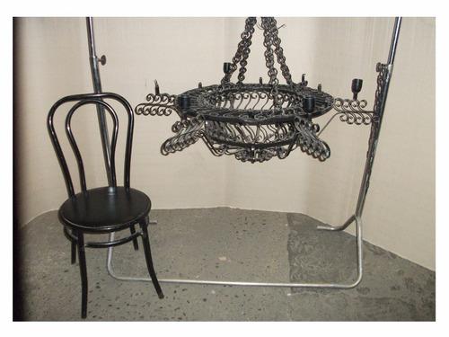 lampara antigua colgante, hogar, decoracion, coleccion