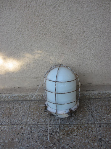 lampara antigua de barco, farol nautico