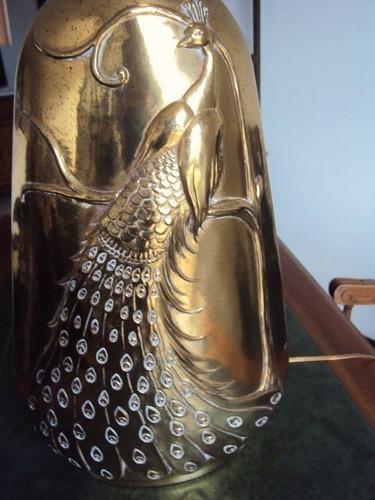 lampara antigua en bronze (base)